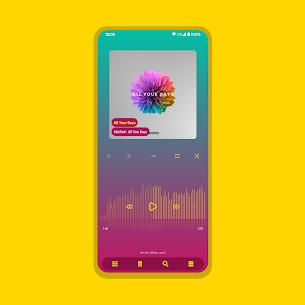 Aurora – Material Poweramp v3 Skin MOD (Paid) 3