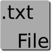 txtFile - Notepad text file editor for android