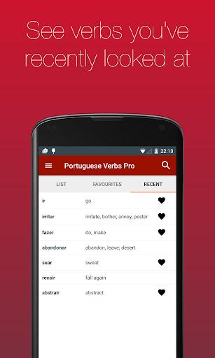 Portuguese Verb Conjugator Pro