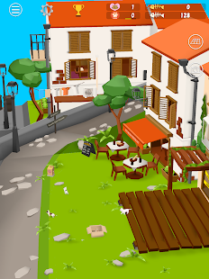 Cats and Sharks: 3D game Screenshot