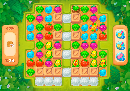 Jungle Mix Match Three: New Jewel in Match-3 Games apkpoly screenshots 22