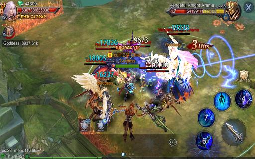 Goddess: Primal Chaos - SEA  Free 3D Action MMORPG android2mod screenshots 8