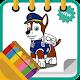 Dog Patrol Coloring Game para PC Windows
