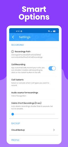 Call Recorder - IntCall ACR (Lite) screenshot 4