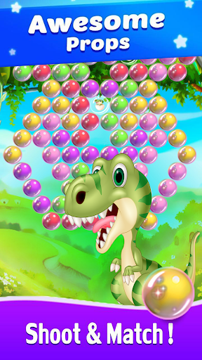 Dinosaur Bubble Shooter Primitive  screenshots 1