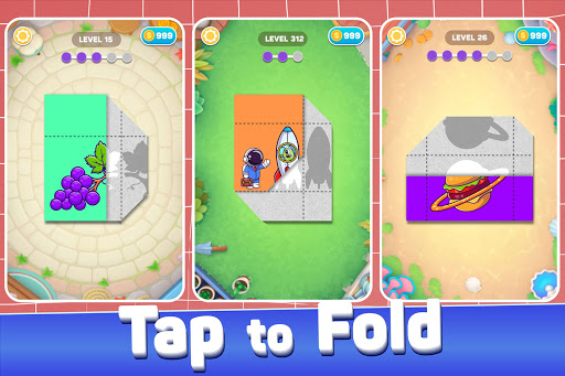 Paper Fold Puzzle: Easy Origami - Paper Folding  screenshots 1