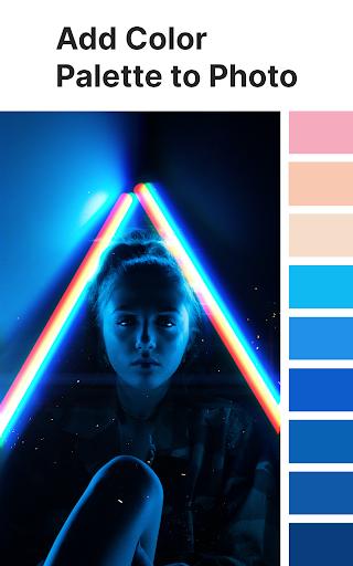 Palette Pantone ud83dudcf7 Add color palettes to photos 2.01 Screenshots 12