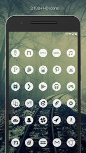 Light Void Pro – White Minimal Icons v3.1.9 [Patched] 2