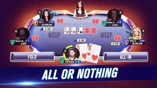 Download World Series of Poker WSOP Free Texas Holdem Poker mod apk 1