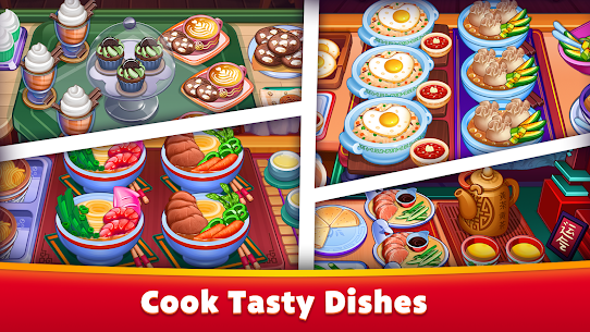 Asian Cooking Star MOD (Unlimited Gems/Coins) 2