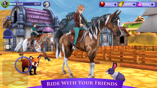 Horse Riding Tales - Ride With Friends Screenshot