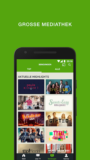 sixx – Kostenloses Live TV und Mediathek  screenshots 2