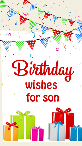 Birthday Wishes For Son  screenshots 1