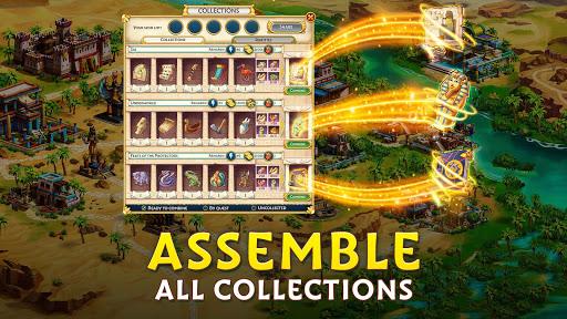 Pyramid of Mahjong: A tile matching city puzzle screenshots 14