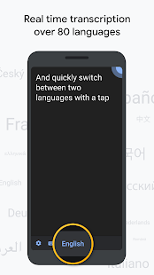 Live Transcribe & Sound Notifications Screenshot