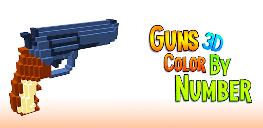 Guns 3d Color By Number Weapons Voxel Coloring Apps On Google Play