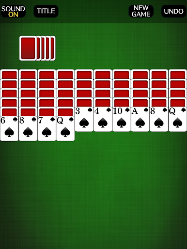 Spider Solitaire [card game] screenshots 5