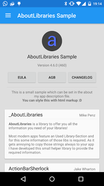 AboutLibraries Library