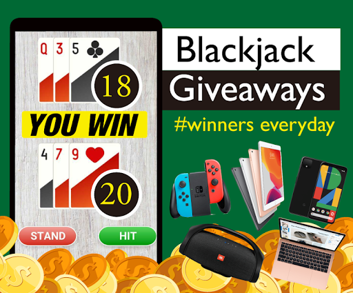 Blackjack 21 Giveaways: Free gift, Poker Card Game 1.537 screenshots 2