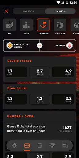 Sports Stars: Cricket + Football Live Score & Odds screenshots 5