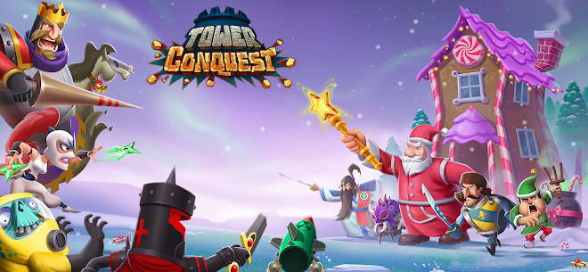 Tower Conquest MOD (Unlimited Money/Gems) 1