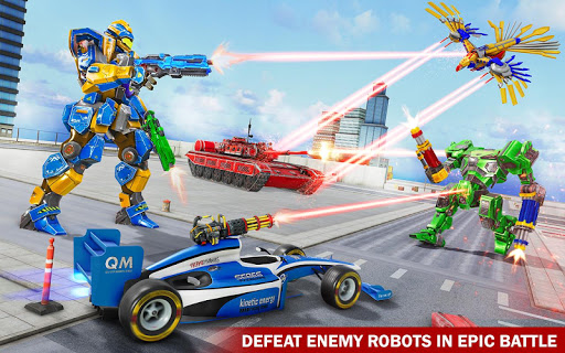 Tank Robot Game 2020 - Eagle Robot Car Games 3D 1.1.0 screenshots 3