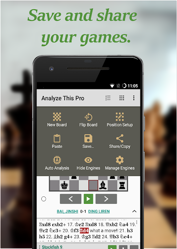 Chess - Analyze This (Pro) screenshots 2