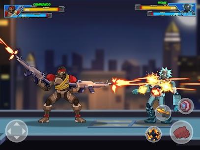 Robot Super Mod Apk: Hero Champions (UNLOCKED HEROES) 6