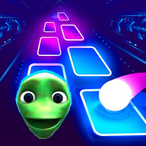 Green Alien Dancing Hop Beat