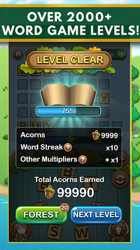 Word Forest - Free Word Games Puzzle  screenshots 2