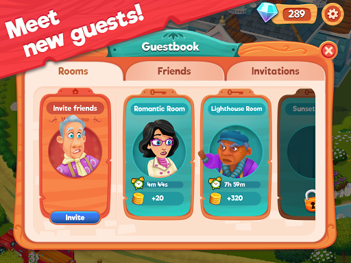 Delicious B&B: Match 3 game & Interactive story 1.17.10 screenshots 19