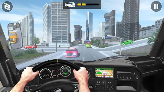 City Coach Bus Simulator 2021 – PvP Free Bus Games Apk 4