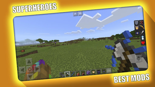 Avengers Superheroes Mod for Minecraft PE - MCPE 2.2.0 Screenshots 2