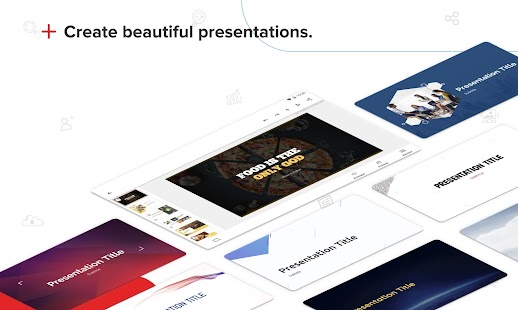 Zoho Show - Presentation Tool & Slideshow creator Screenshot