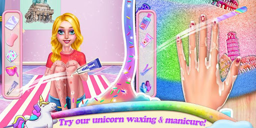 Unicorn Makeover Artist: World Travel  Screenshots 3