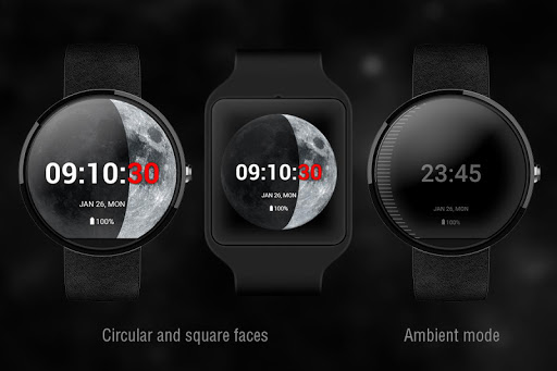 Moon Phase PRO - Watch Face For PC Windows (7, 8, 10, 10X) & Mac Computer Image Number- 8