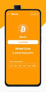 Techno Bitcoin Miner – Cloud Mining System For Android 3