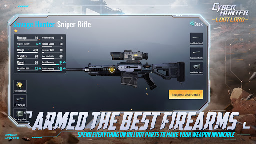 Code Triche Cyber Hunter Lite (Astuce) APK MOD screenshots 4