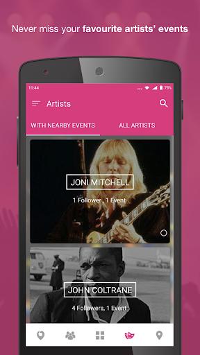 Nearify - Discover Events 9.2 Screenshots 3