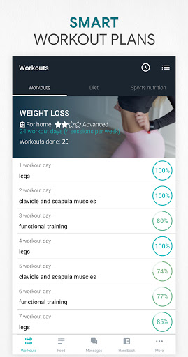 Foto do Fitness Online - weight loss workout app with diet