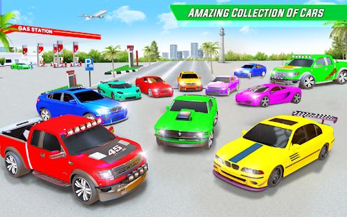 Gas Station Car Driving Simulator Car Parking Game  Screenshots 17