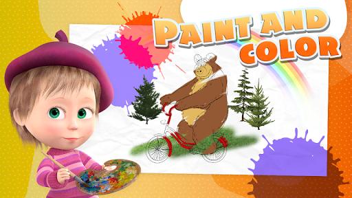 Masha and the Bear - Game zone screenshots 4