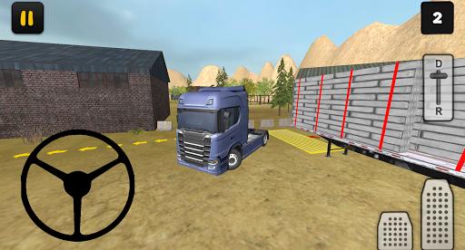 construction truck 3d: prefab transport screenshot 1