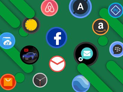 Schermata del pacchetto icone Popcircle