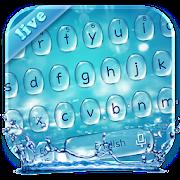 Live Water Keyboard Theme