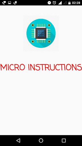 Micro Instructions 1.4 Screenshots 1