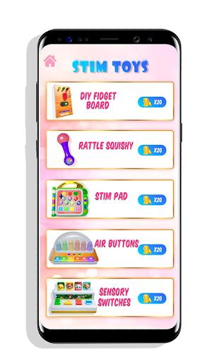 Stim Toys! Fidget Board & Pop It Toys for Anxiety apktreat screenshots 1