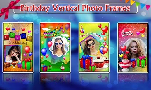 Birthday Photo Frames, Greetings and Cakes 2021 Screenshot