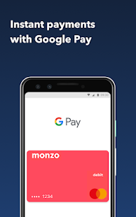 Monzo - Mobile Banking Screenshot