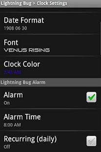 Lightning Bug - Sleep Clock